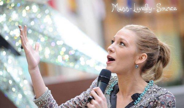 16 Novembre > Blake sur le tournage de Gossip Girl à New York !