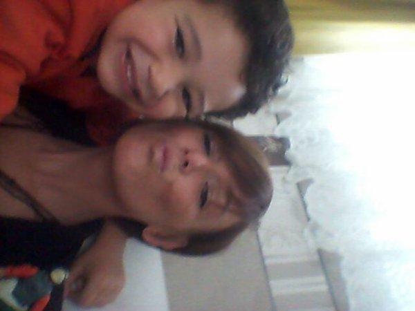 Mon bébé d amour et sa maman