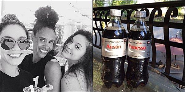 . 06.08.2014 - Vanney et Austin sont aller dîner au restaurant. .