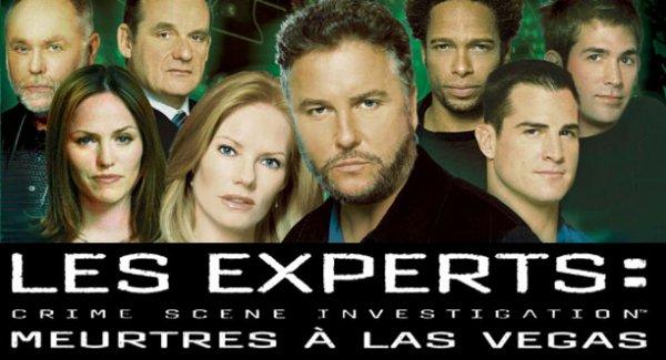 Acteurs/personnages des Experts