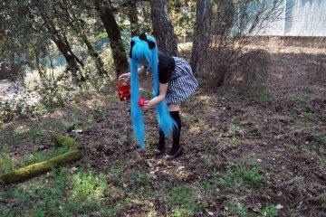 Cosplay Miku Hatsune