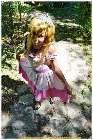 Cosplay Princesse Peach