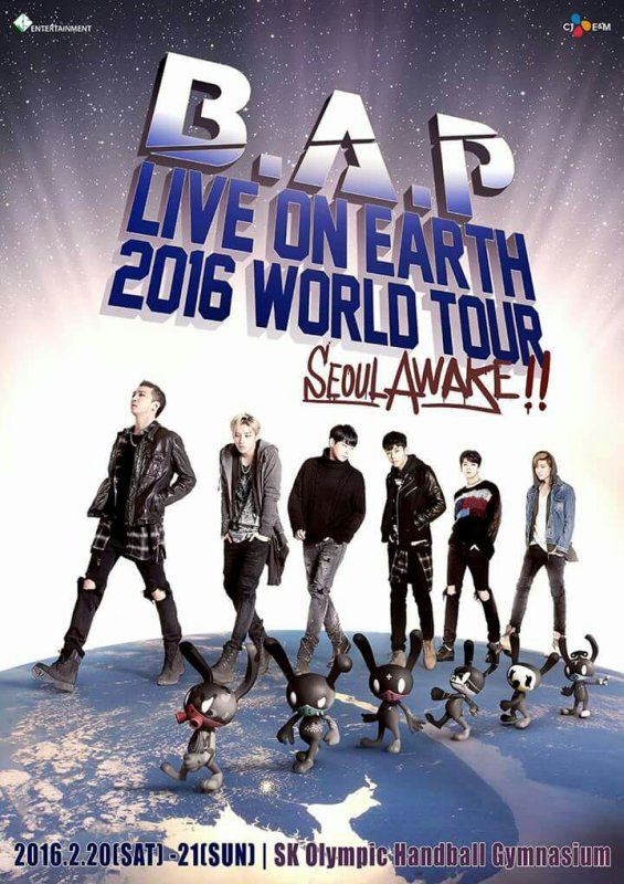 BAP live on earth 2016 !