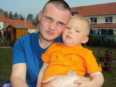 kerwan et son papa