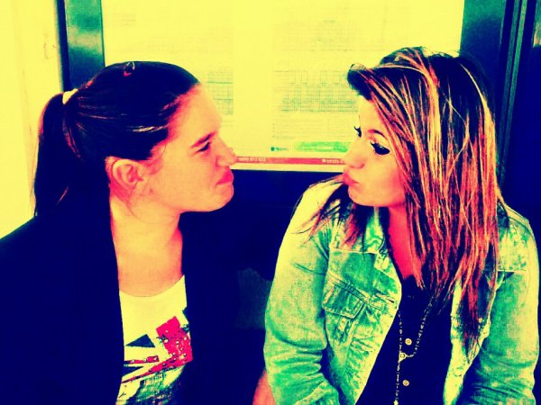 justine & moi ;)
