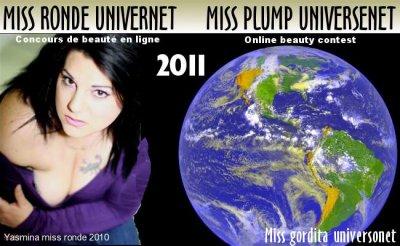 Miss Plump Universnet/ Miss Ronde Universnet