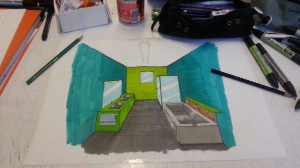 Cours design d'espace - La SDB