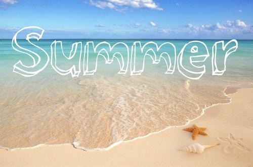 Voilà l'été ....