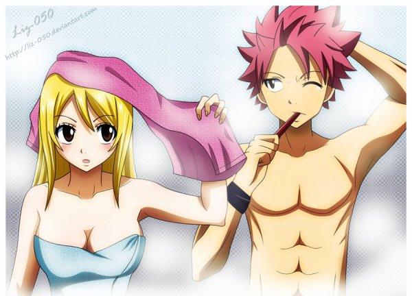 Juste pour présenter mes couples de Fairy Tail préférés ^^