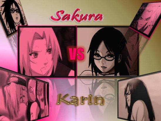 os partie 1 : sakura vs karin pour l amour d un garcon