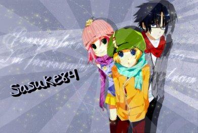 les trois sasuke sakura naruto
