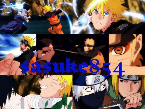 Sasuke, Naruto et etc ...!!
