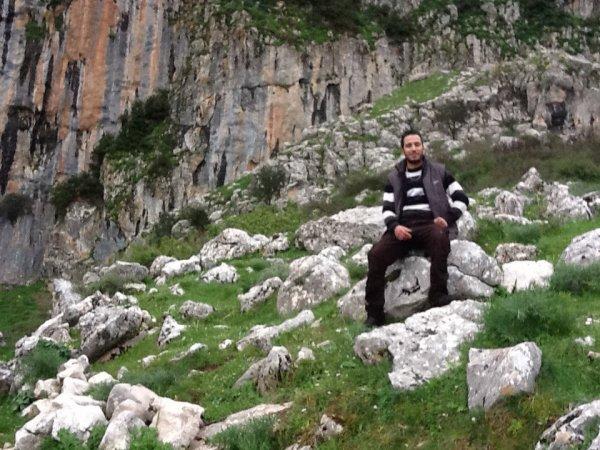 moi a la montagne de djurdjura