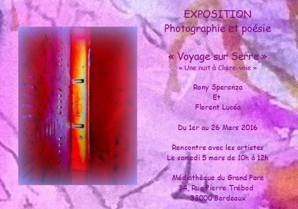 Expo perso, Florent LUCEA et Rony SPERANZA