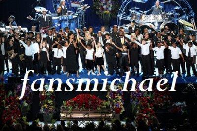 """""""Hommage au Staples Center: 7 juillet 2009"""""""