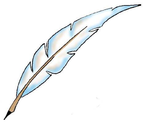 Une plume