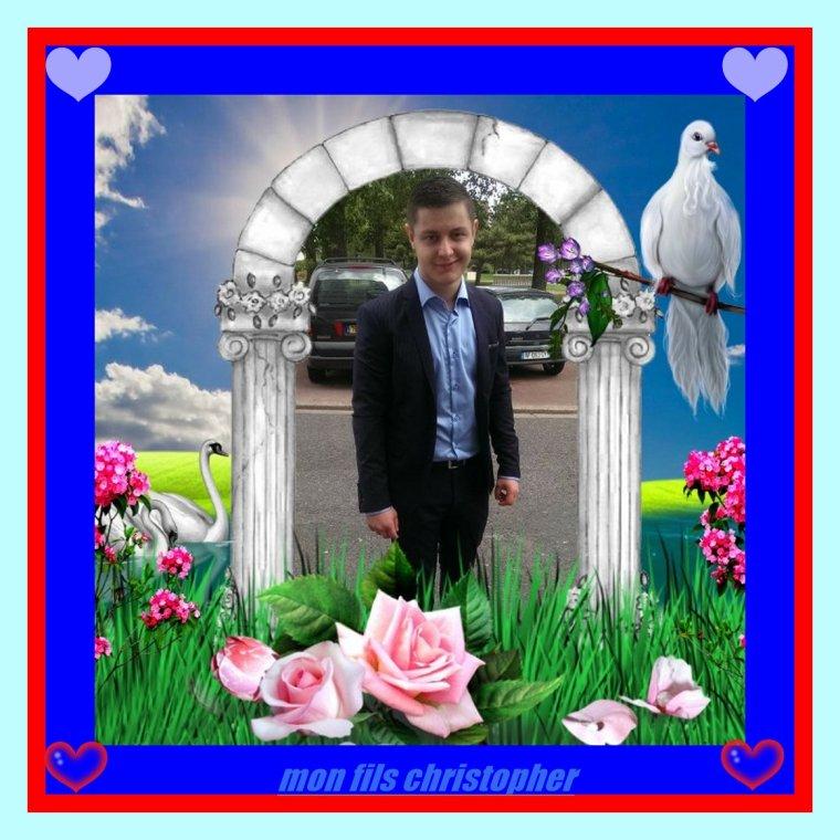 mon fils christopher je t aime mon  fils