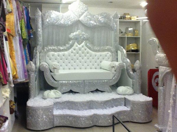trône de mariage