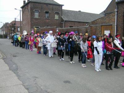 1er carnaval de la fanfare de huissignies 2011