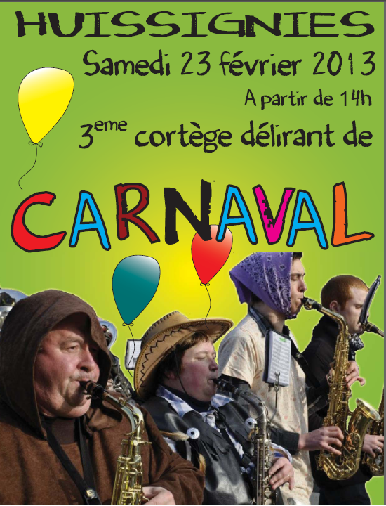 carnaval à huissignies 2013