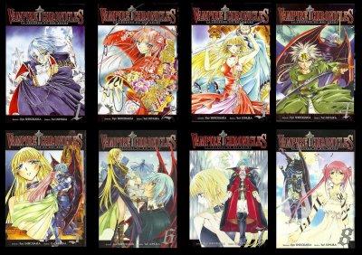 Vampire Chronicles de Yuri KIMURA et  Kyo SHIRODAIRA