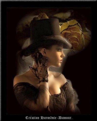 §§§ Les chapeaux de Géraldine... Une merveille ... §§§