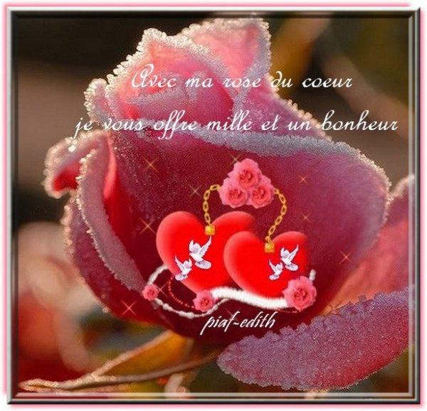 §§§ CADEAU D'YVETTE DE RETOUR PARMI NOUS .....