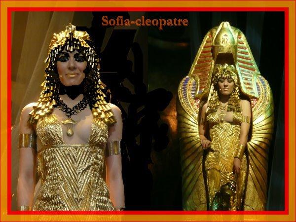 sofia dans cleopatre la derniere reine d'egypte