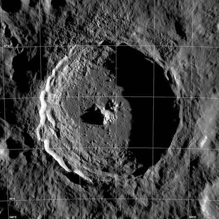 Tycho (Cratère de notre Lune)