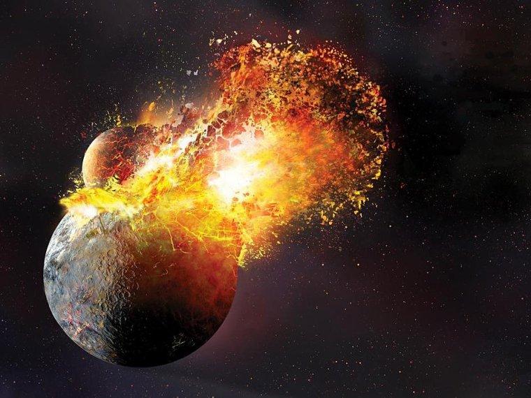 Formation de la lune