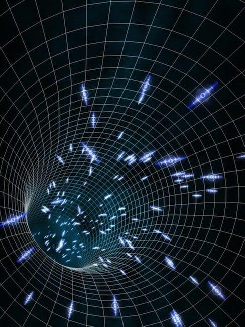 Évaporation des trous noirs = Rayonnement de Hawking