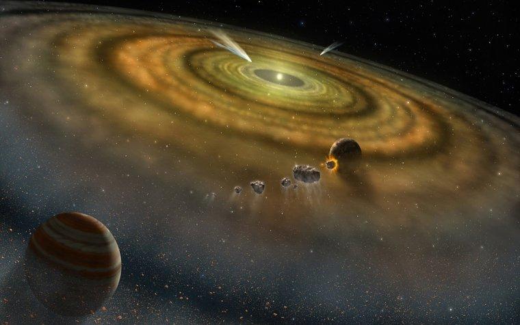 Proto-planétaire = bébé-système-solaire