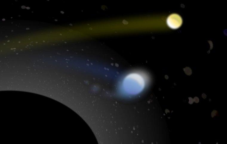 Ex-étoile binaire