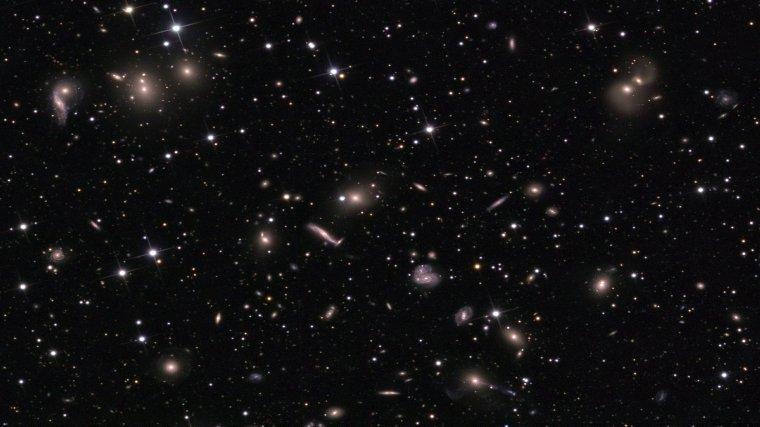 Supermamas galactique = Toile cosmique