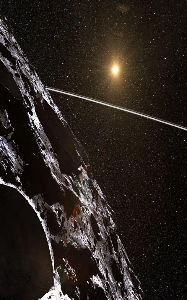 Chariklo (Astéroïde à anneau)