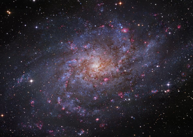 Galaxie du Triangle M33 = Triangulum Galaxy