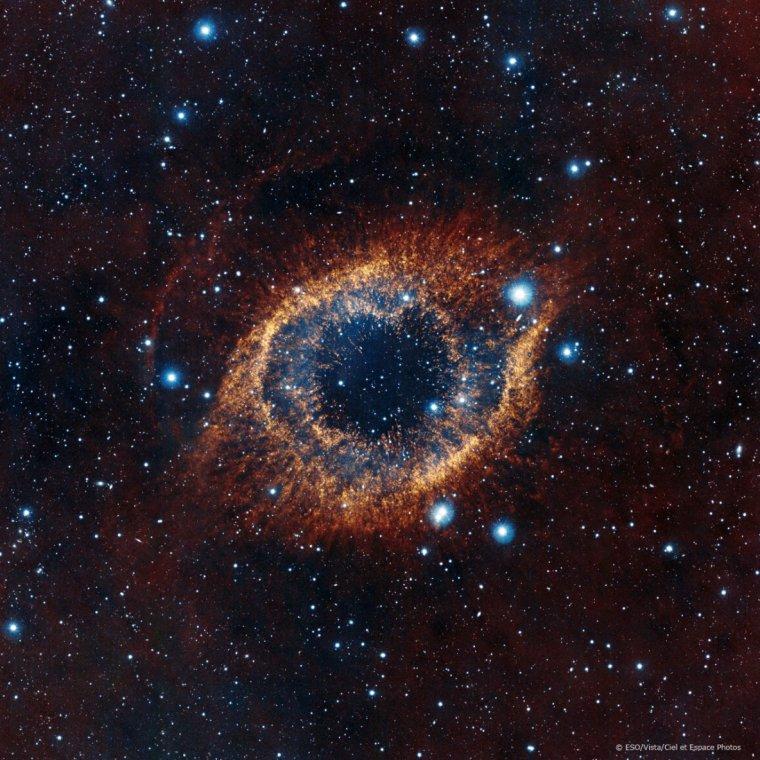 Helix = NGC 7293 = Nébuleuse de l'Hélice