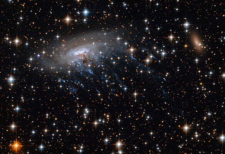 Fin d'une galaxie spirale