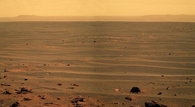 Désert martien