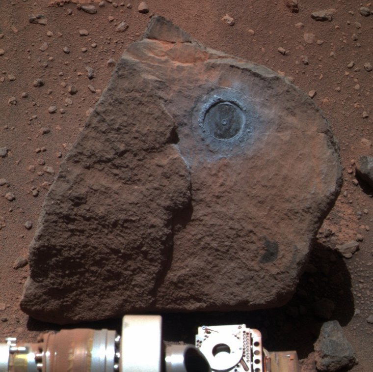 Instrument RAT du rover Opportunity