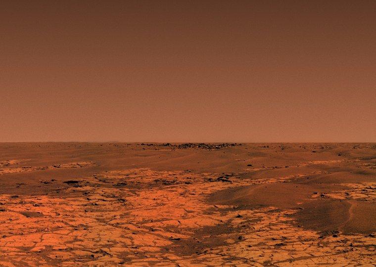 Horizon martien