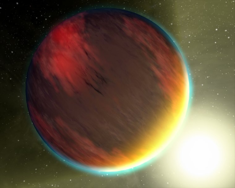 Planète extragalactique