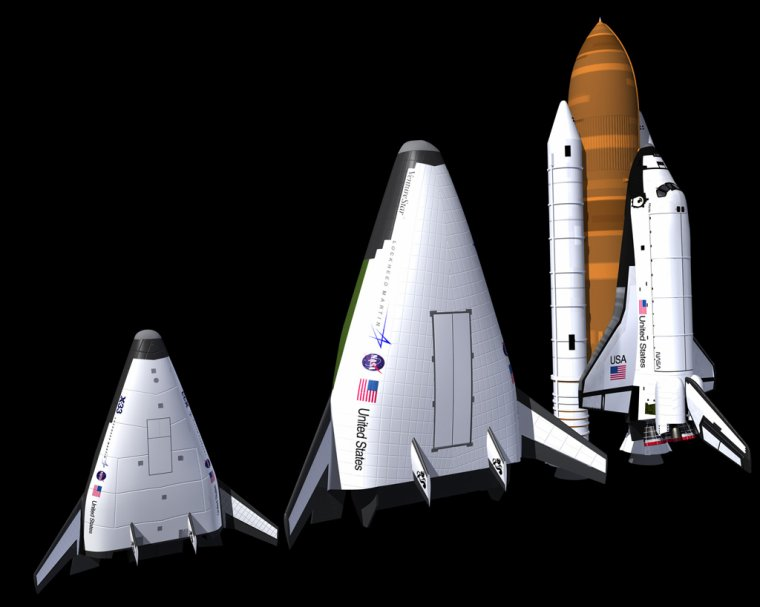 Venturestar de Lockheed Martin ( Projet abandonné )