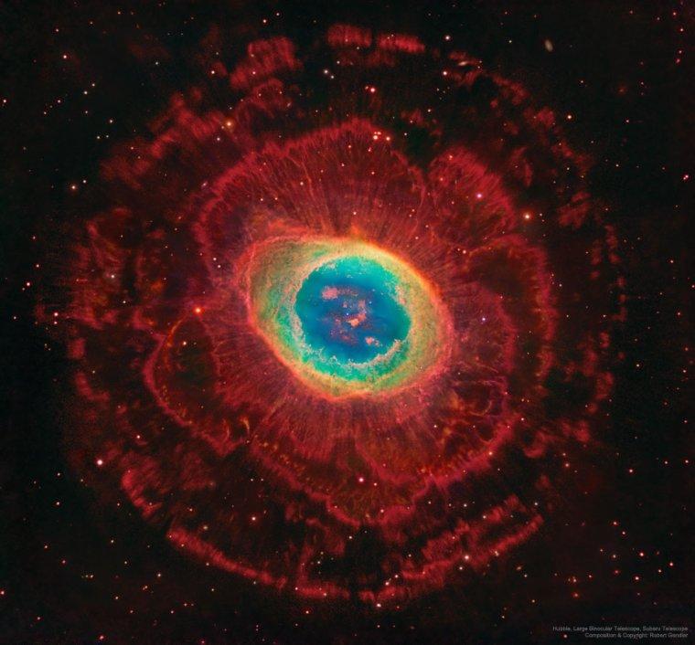 M57 = Messier 57 = Nébuleuse de la Lyre