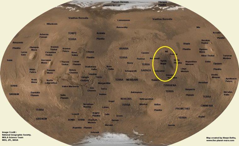 Syrtis Major Planum