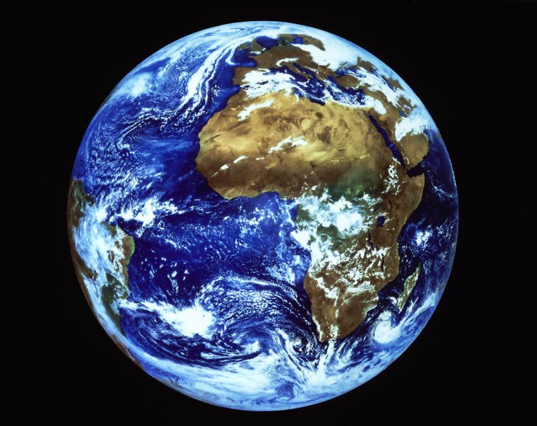 Vitesse de rotation de notre planète Terre