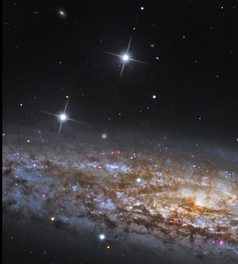 Galaxie du sculpteur NGC 253