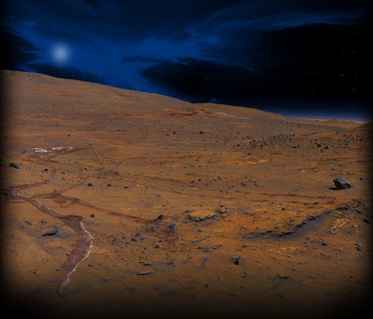 Nuit sur Mars