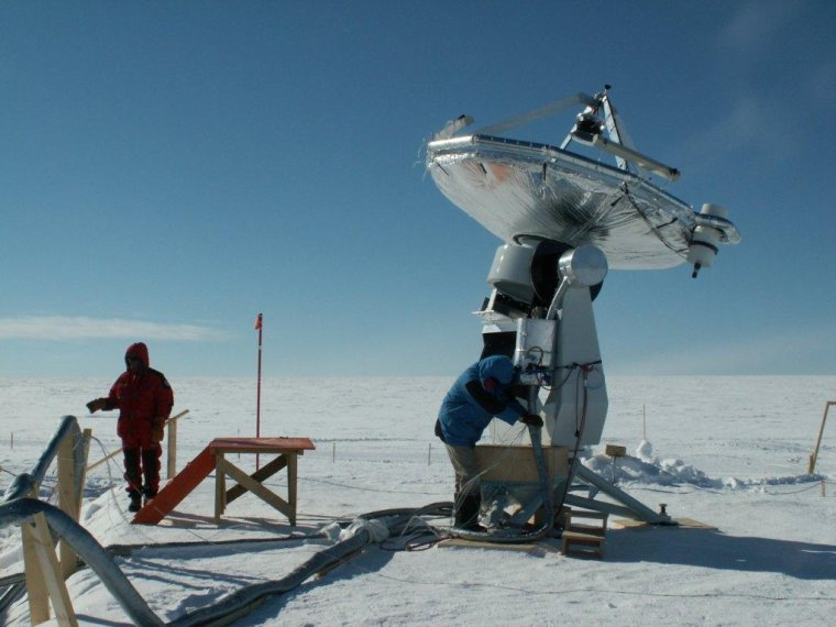 Astronomie submillimétrique = Observation millimétrique