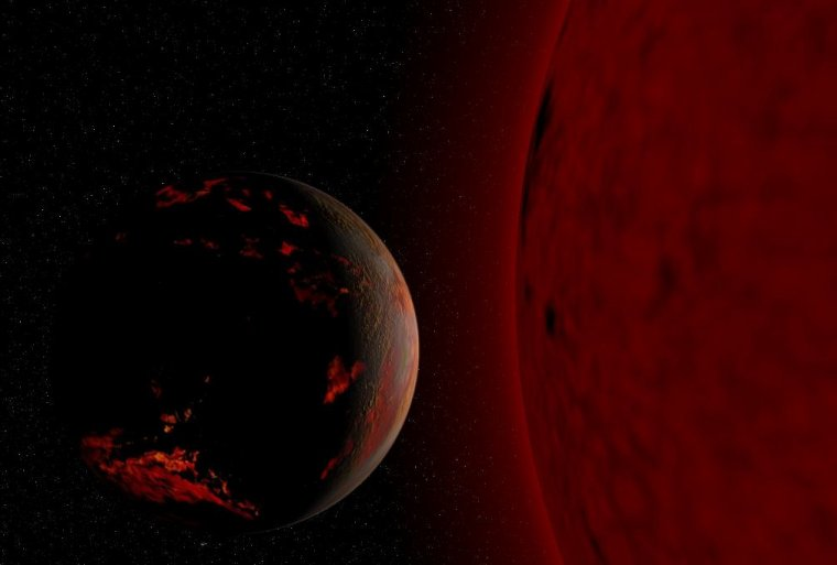 Mort du soleil et de la Terre